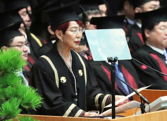 東京大学入学式2019祝辞
