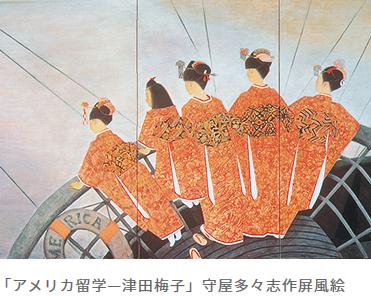 1871 津田梅子 6歳で米留学