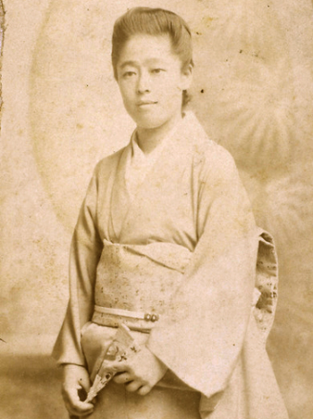 1882 津田梅子帰国18歳