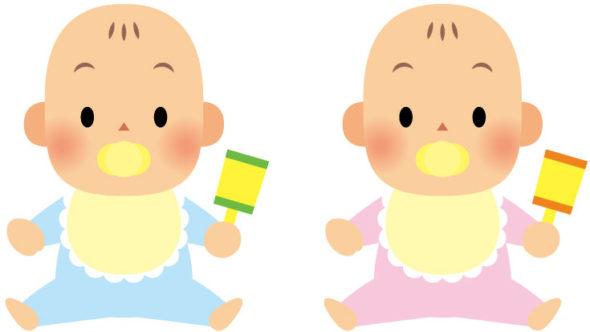 ベイビーシャワー ゲーム 赤ちゃんの絵