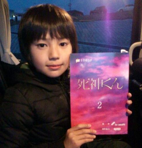 荒木飛羽 8歳『死神くん』デビュー作品